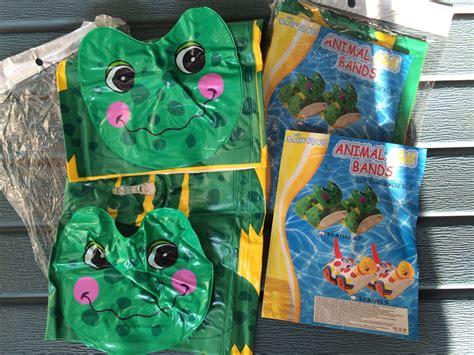 Ban Renang Karakter jual ban renang pelung tangan karakter katak kodok frog