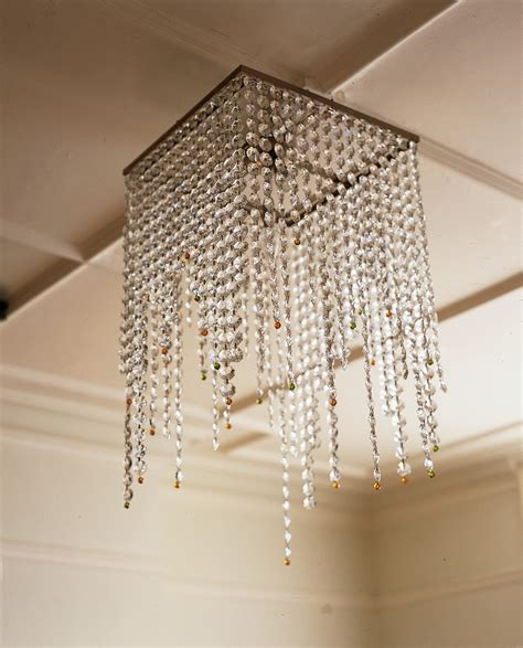 kronleuchter eckig square chandelier with and peridot detailing
