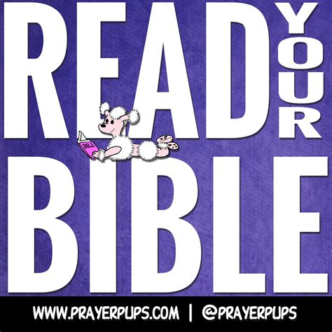 Read Your Bible by Read Your Bible Christian From Prayer Pups