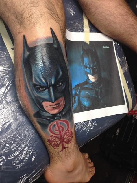 dark knight tattoo batman by reese tattoonow