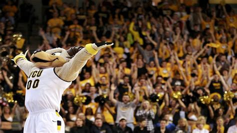 naismith student section of the year vcu rams win naismith student section of the year