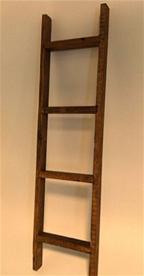 new primitive rustic 32 quot decorative barnwood ladder shelf