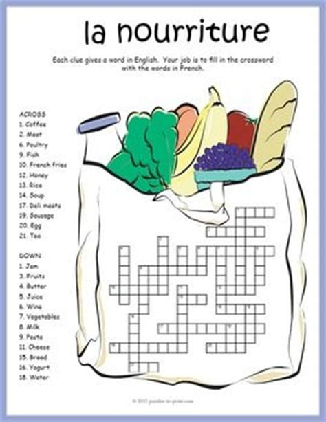 5 Letter Words Related To Food 105 best images about crosswords for on