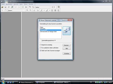 Microsoft Office Document Scanning Windows 7
