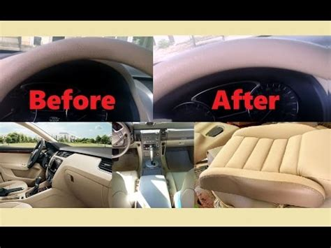 Cleaning Car Interior Vinyl by How Clean Light Beige Vinyl Interior Car Upholstery