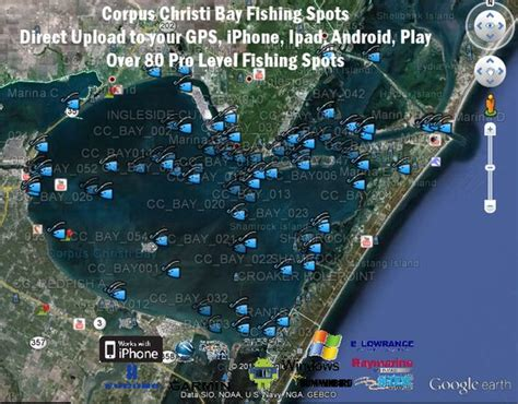 fishing maps texas corpus christi bay fishing map texas fishing maps photos and fishing maps bays