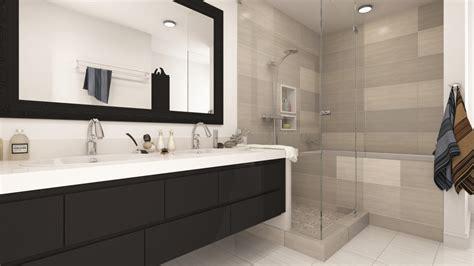 Modern Bathroom Remodels by Two Modern Bathroom Remodels