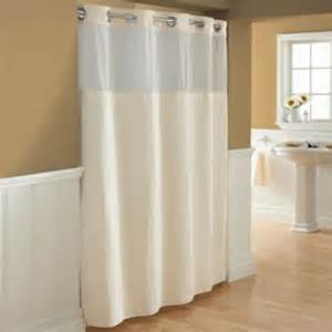 Hookless 174 waffle fabric shower curtain and liner set in cream