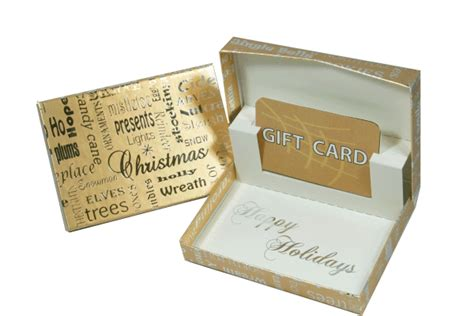 gold christmas gift card box gift card holders gift card