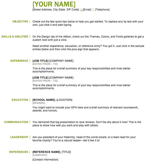 Basic Template Resume by Resume Exle Free Basic Resume Templates Resume