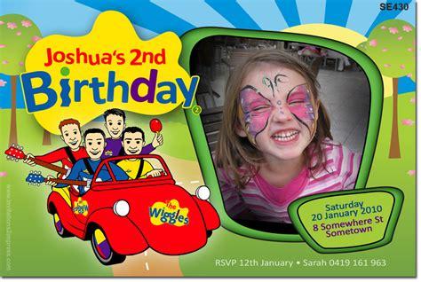 se themed birthday wiggles big red car girls