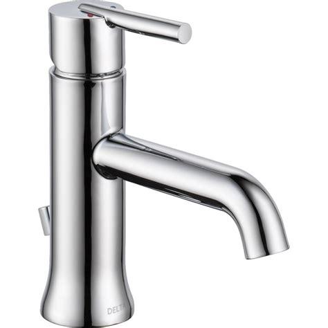 Delta Faucet 559lf Mpu Trinsic Polished Chrome One Handle Delta Faucet Bathroom
