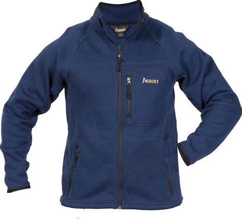 Jaket Reglan s rocky fleece raglan sleeve jacket style 600706