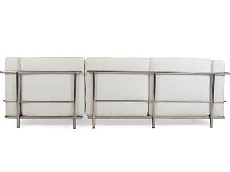 le corbusier corner sofa lc2 le corbusier corner sofa white