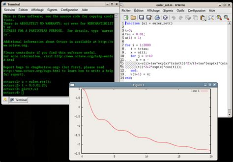 qtoctave tutorial qtoctave l alternativa a matlab linguaggio interattivo di