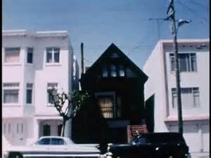 this jet black house in san francisco used to be home to