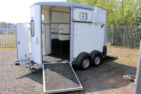 trailer white ifor williams hb506 central horseboxes
