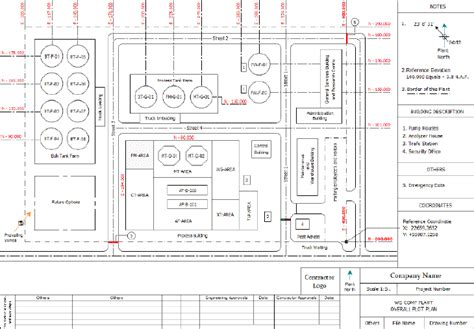 plot plan drawing piping coordination systems plot plans and equipment