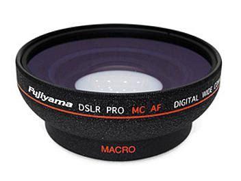 Lens Att 58mm fujiyama w05 58bto 58mm 0 5x wide angle converter lens