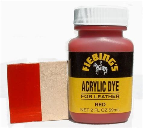 acrylic paint for leather fiebing s acrylic leather paint 2 oz 59ml desertcart