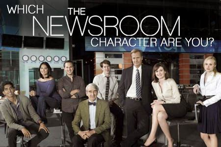 the news room which the newsroom character are you buddytv