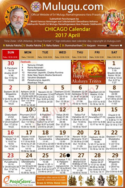 chicago telugu calendar 2017 april mulugu calendars