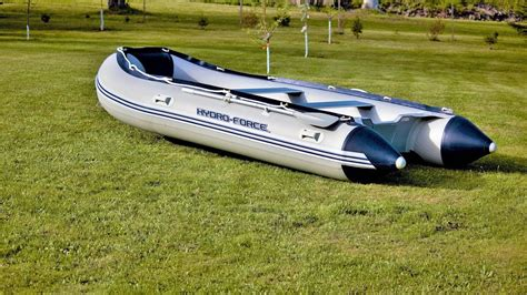 inflatable boat bunnings inflatable boat assembly hydro force sunsaille youtube
