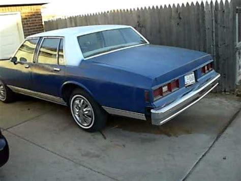 84 chevy impala 1984 box chevy impala