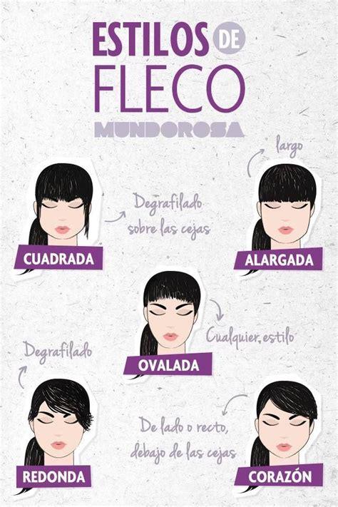 tipos de rostros que les queda el cabello corto tipos de el fleco seg 250 n la forma de tu cara infograf 237 as
