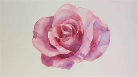 how to water color how to draw watercolor flower