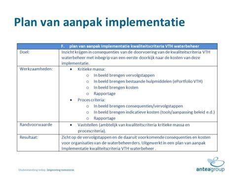 Plan Van Aanpak Voorbeeld Mbo Ict