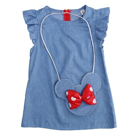 Dress Minnie baby dress minnie mouse bag demin flying