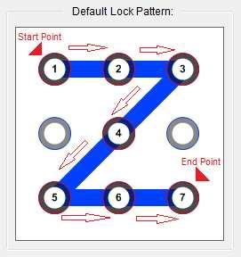 pattern unlock software for pc eusing maze lock pattern lock for pc a2z software