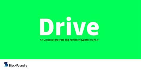drive font drive font family befonts com
