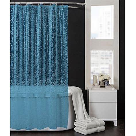 shower curtain bed bath and beyond pebbles 70 inch x 72 inch peva shower curtain in aqua blue