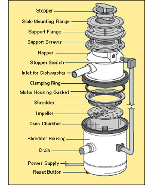 How a Garbage Disposal Works   HomeTips