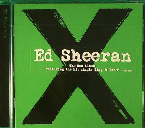 ed sheeran x album cover ed sheeran x vinyl at juno records