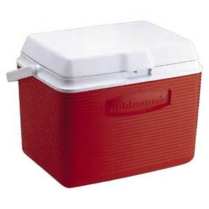 Patio Ice Chest Rubbermaid 24qt Ice Chest Red