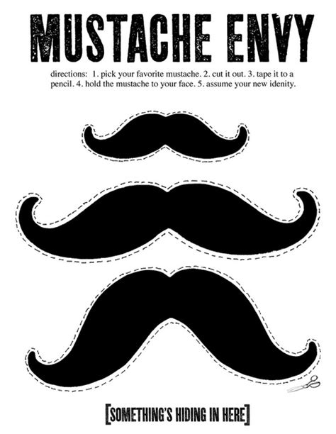How To Make A Mustache Out Of Paper - the gallery for gt colorful mustache cut out