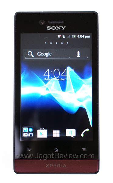 Hp Sony Android Miro android ku xperia miro ponsel pintar sosial yang ceria