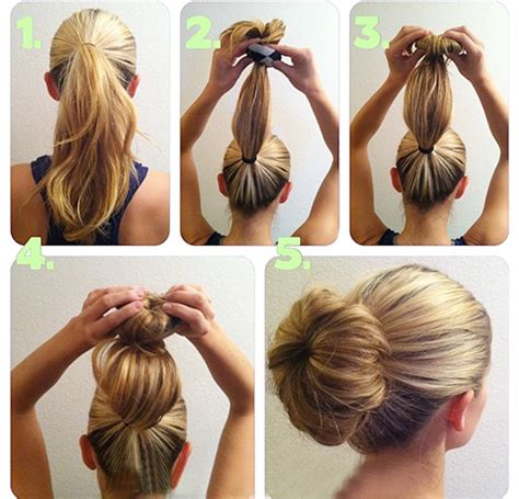 Sock Bun Hairstyles by What Is The Sock Bun And How Do You Wear It To College