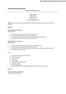 Cover Letter Exles Visual Merchandising Cover Letter For Retail Resume Sales Retail Lewesmr