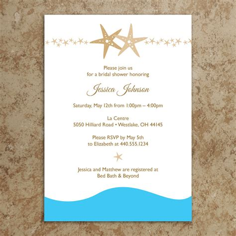 free printable wedding invitations pdf beach invitation diy printable pdf beach bridal shower