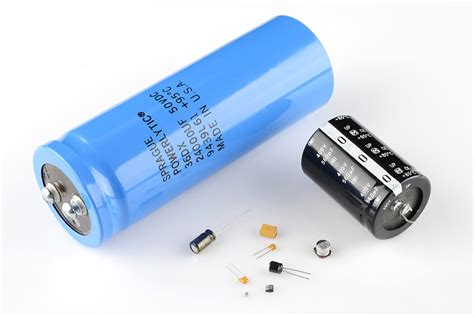 electrical energy capacitor capacitors learn sparkfun