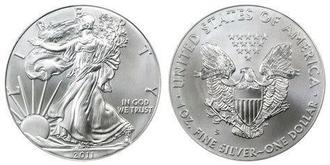 1 troy ounce american silver eagle coin value 2011 s american silver eagle bullion coins burnished one