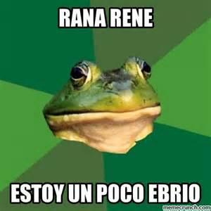 Memes Rana Rene - rana rene