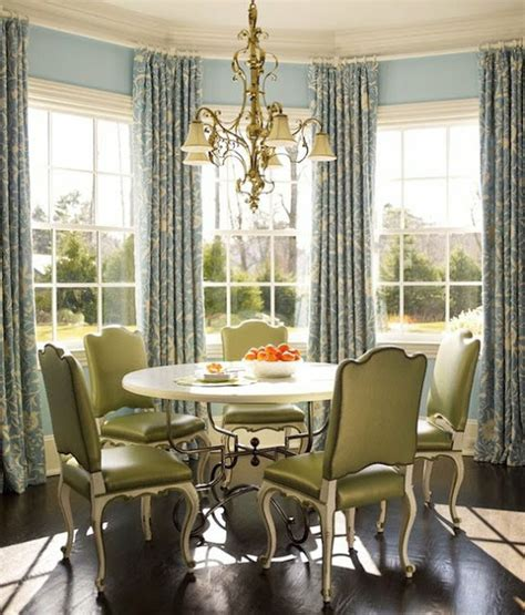 Dining Room Bay Window Curtain Ideas by Beaux Mondes Designs Bay Bliss Seven Design Compositions