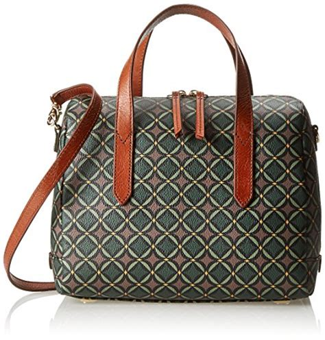Fossil Zb6906016 Satchel Black Multi fossil sydney satchel top handle bag green multi one size top fashion web
