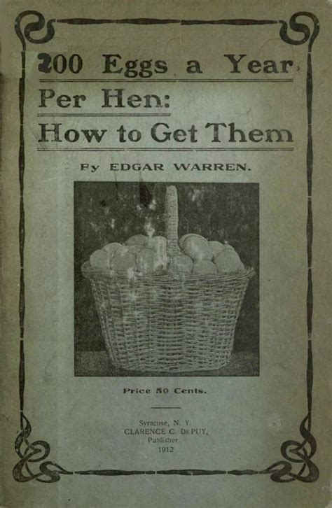 Per Them by 200 Eggs A Year Per Hen How To Get Them The Poultry Pages