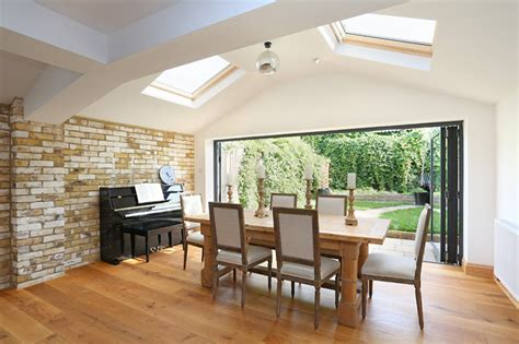 Kitchen Dining Room Extension Skylights Fiood This Kitchen Extension With Light